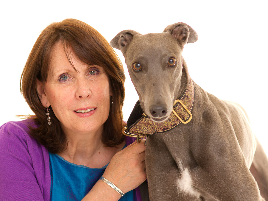 sally canning and her dog gladys