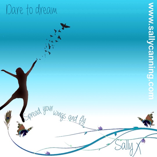 Dare to Dream poster for sally canning
