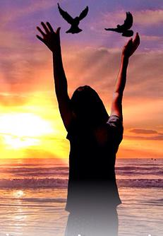 dare to live out loud photo women on beach