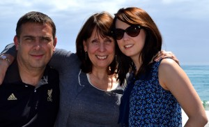 photo of sally canning and family