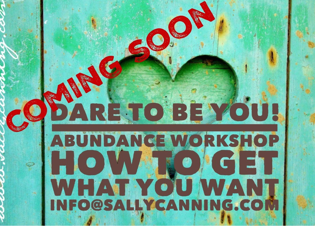 Dare to be You Abundance Workshop poster